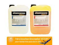 PLATINUM UDDERCARE 2 X 20 L + LIMONADIER