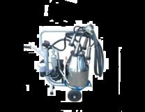 CHARIOT DE TRAITE MOBILE POT INOX POMPE HUILEE