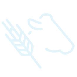 Palette de 4 niches à veau Bicouche Plus ® MV avec portillon